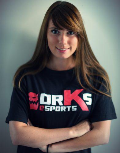 T-Shirt Noir Silveross orKs eSports