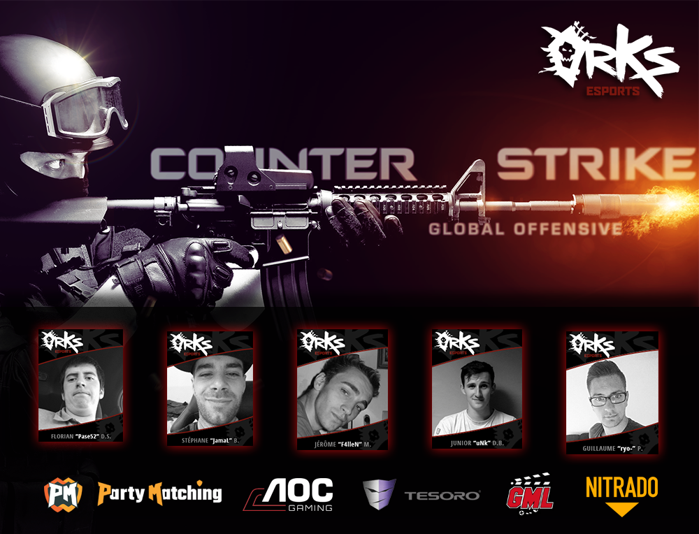 Line up CS GO-BLACK