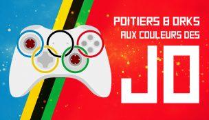 Poitiers et orKs aux couleurs des JO