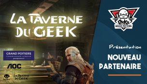 Nouveau partenaire : La Taverne du Geek