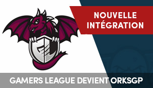 Gamers League et orKsGP ne font plus qu'un