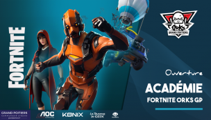 orKs Grand Poitiers ouvre son académie Fortnite !