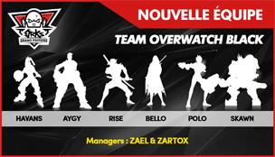 Une cinquième équipe vient d'arriver sur Overwatch !
